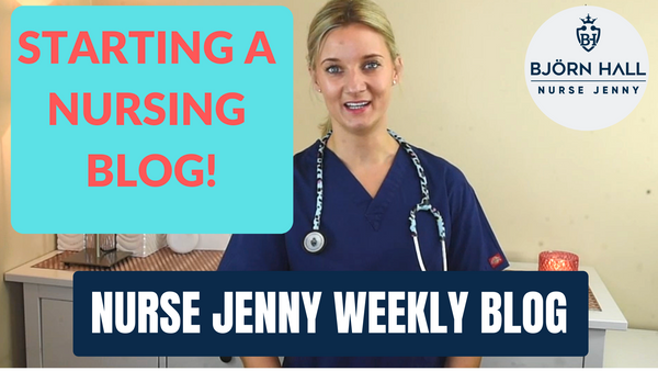 Starting Nurse Jenny Blog