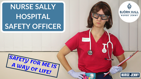 Nurse Sally Hospital Safety Officer