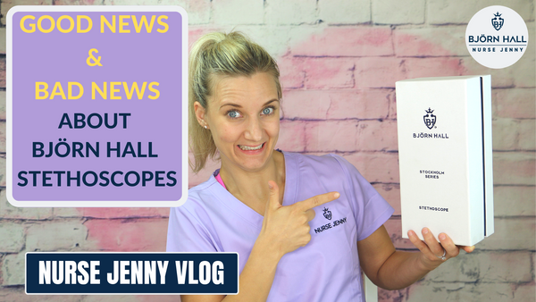 Good News & Bads News About Björn Hall  Stethoscopes