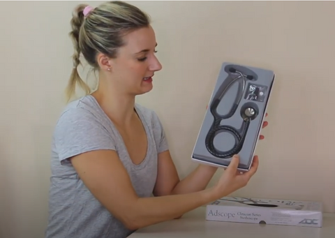 ADC Adscope 603 Series Stethoscope Unboxing
