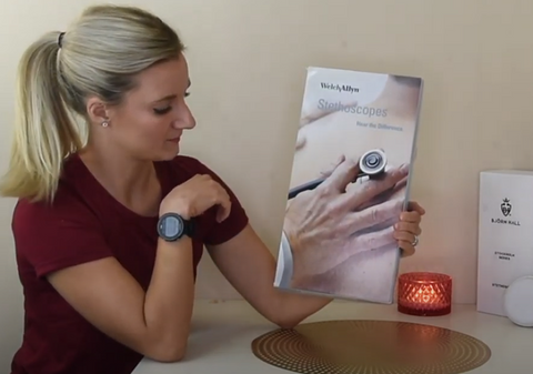 Welch Allyn Harvey DLX Cardiology Stethoscope Unboxing