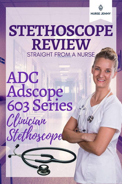 ADC Adscope 603 Series Stethoscope Review