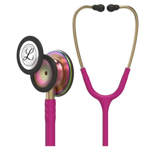 Littmann Classic III Raspberry Rainbow Design