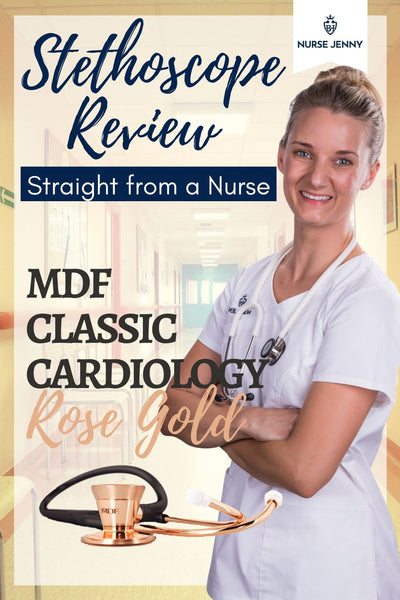 MDF Classic Cardiology Rose Gold Stethoscope Review