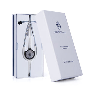 Björn Hall White Stethoscope Packaging