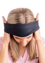 BJÖRN HALL Headband With Buttons for mask - Black