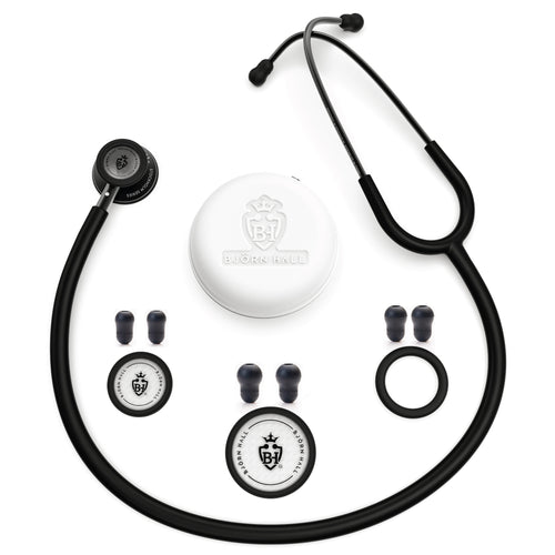Björn Hall Stethoscope Matte Black