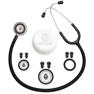 Björn Hall Stethoscope Black Stainless Steel