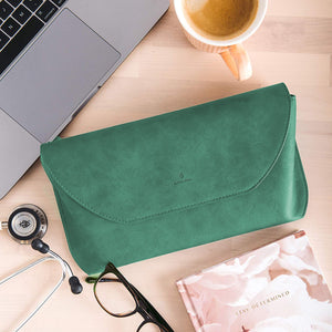 Björn Hall Stethoscope Carrying Case – Emerald Green