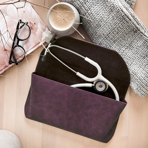 Björn Hall Beautiful Stethoscope Case and White Stethoscope