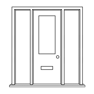Image: External Door and Frame Sets with Fittings