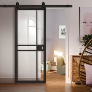 Image: Industrial Style Sliding Doors