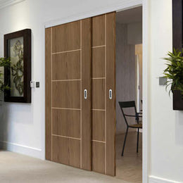 Walnut Sliding Doors