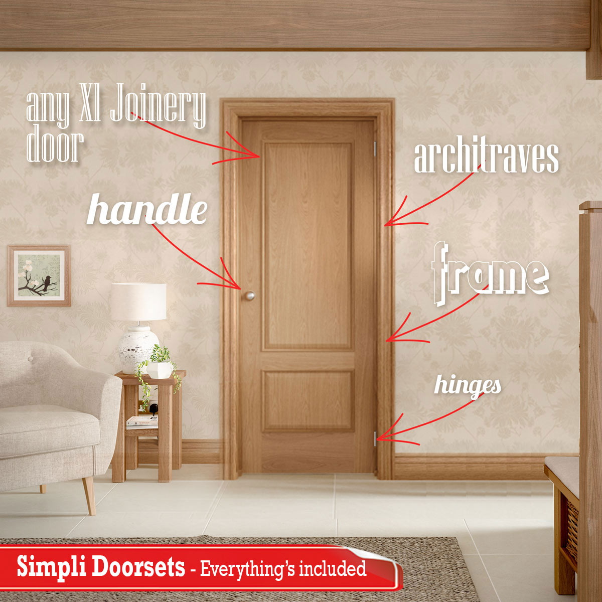 Simpli means one word for doorsets
