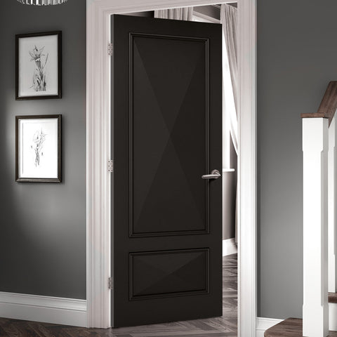 Black luxury door - new doors collection LPD directdoors