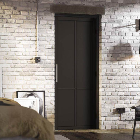 Liberty contemporary panel doors - new 2019 door collection in black