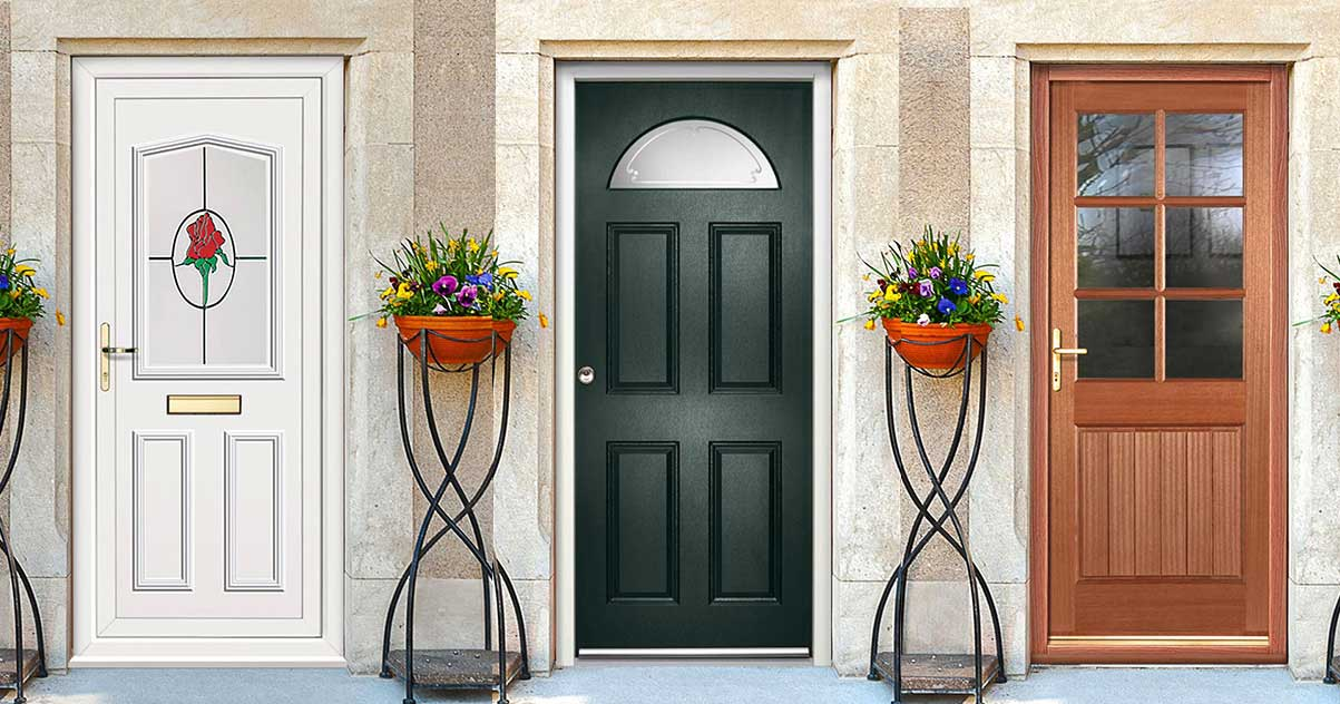 Pros & Cons of choosing External Pvc doors, Composite doors or Wooden