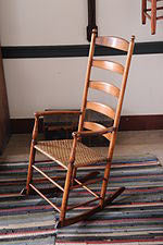 Rocker in the Shaker Village at Pleasant Hill.jpg