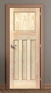 Iseo Flush Oak Veneer Door is Pre-Finished