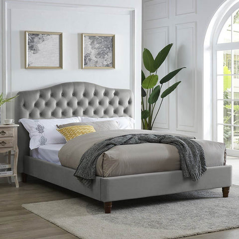 sorrento grey bed