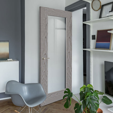 grey-modern-door-interior-design