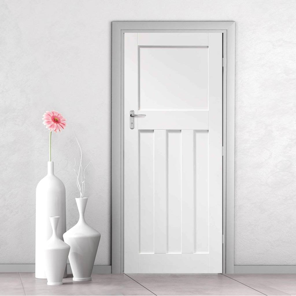 Fire Proof DX White Fire Door - 1/2 Hour Fire Rated - White Primed