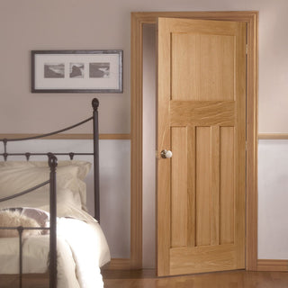 Image: DX Oak Panel Door - 1930's Style