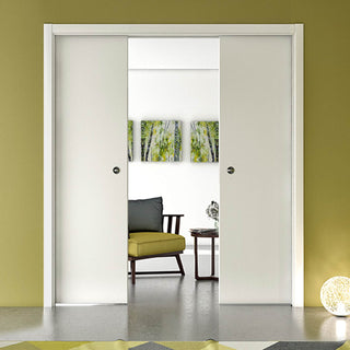 Image: Ermetika Evokit Pocket System Cassette for Double Doors
