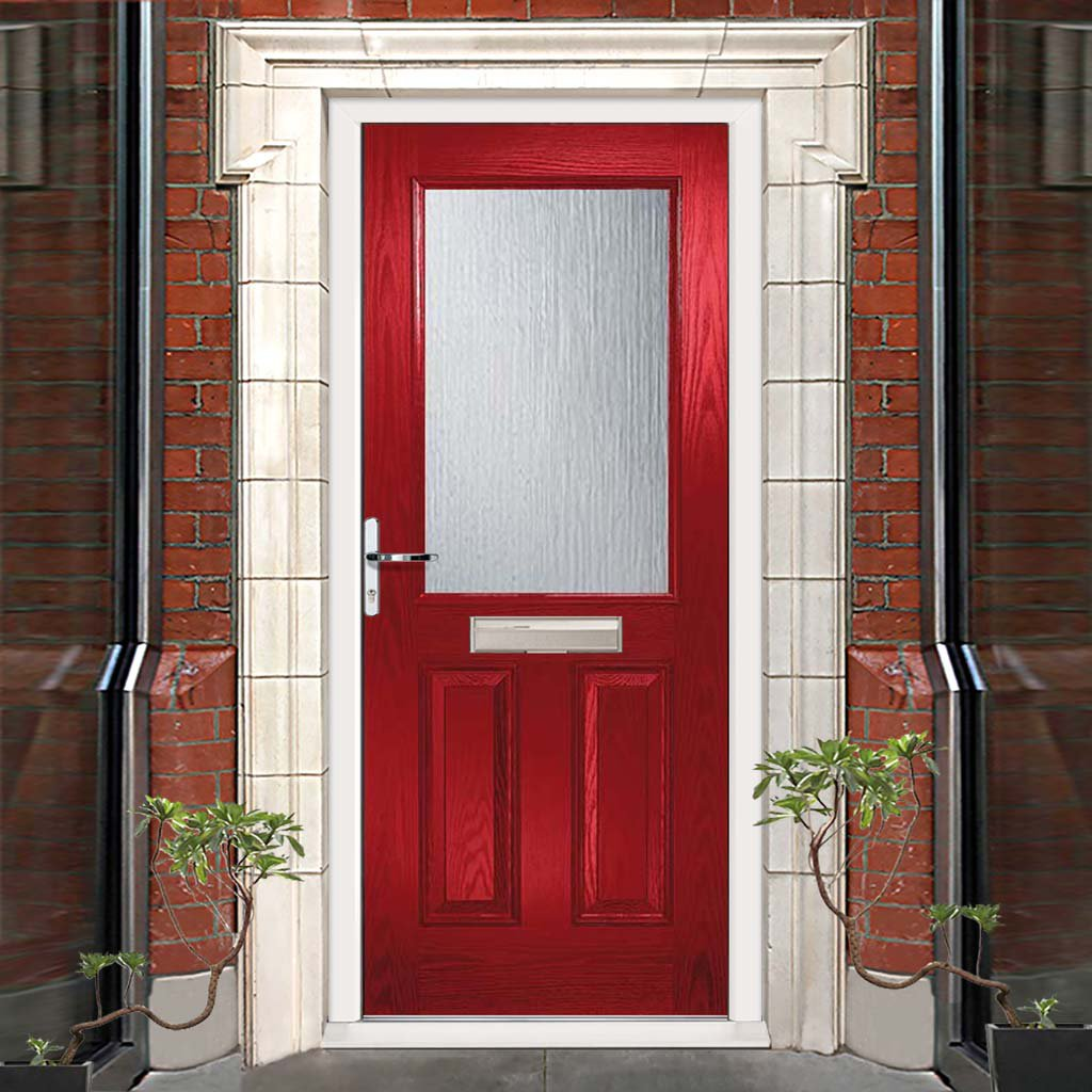 2XG Composite Door - Stippolyte Obscure Glass