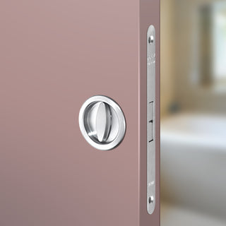 Image: Ermetika AGB Bathroom Lock Round Turn