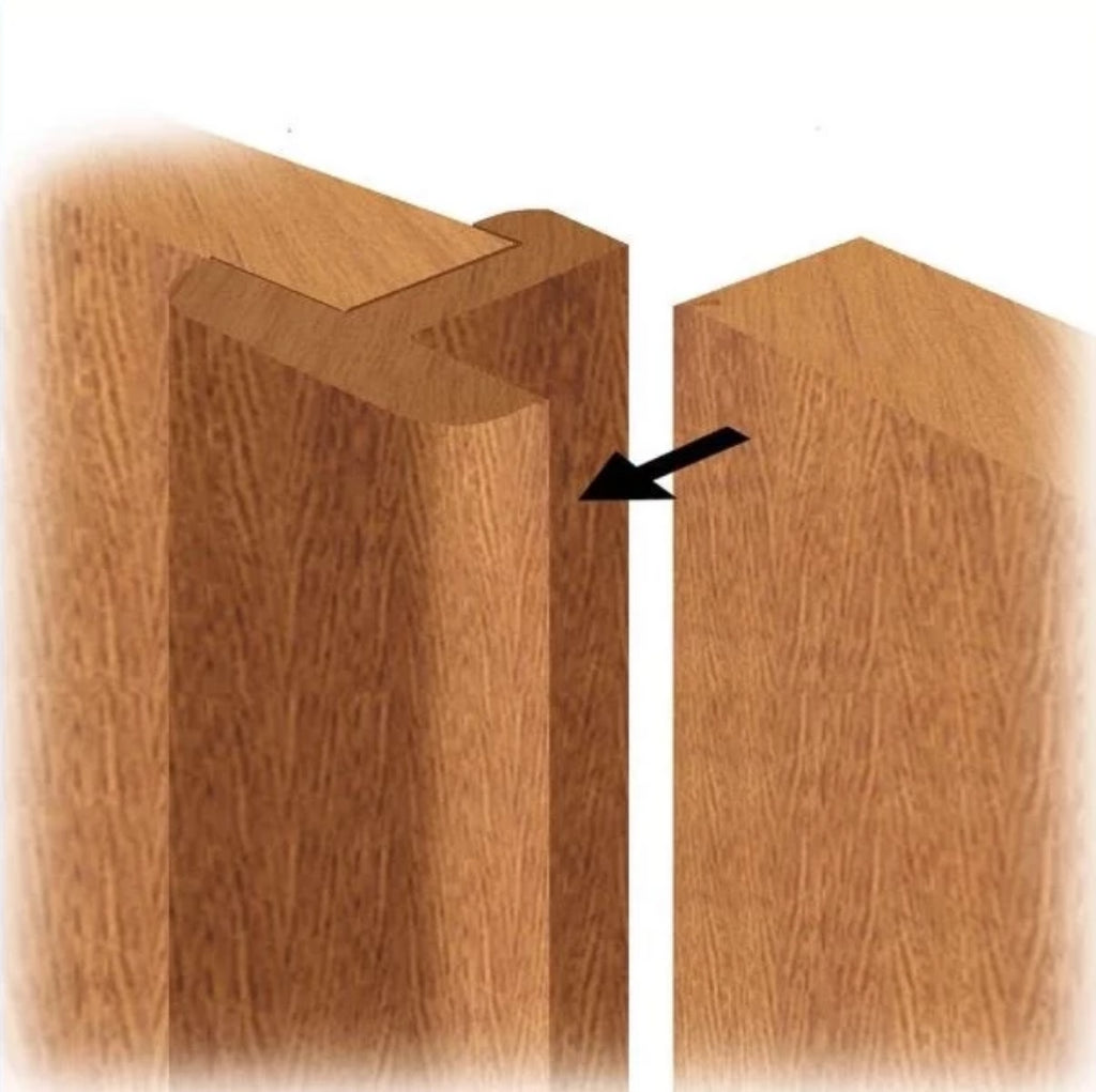 Pair Maker - A rebate set to allow the formation of a door pair