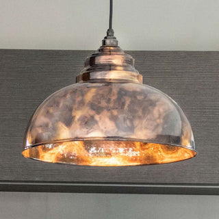 Image: Burnished Harborne Pendant Ceiling Light Fitting