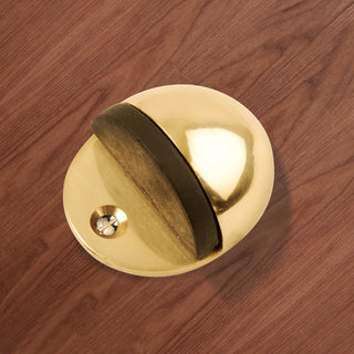 Image: AA20 Oval Floor Mounted Door Stop - 3 Finishes
