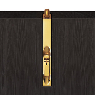 Image: Polished Brass: AA80 Flush Slip Bolt with Sunk Slide