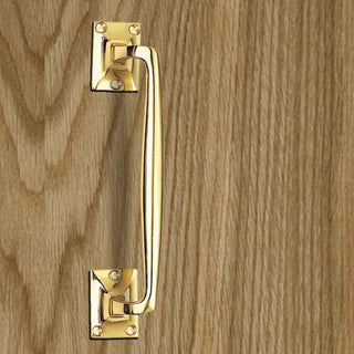 Image: AA92 Pub Style Pull Handle, 254mm - 3 Finishes