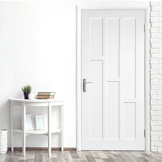 Image: Alexander Lightly Grained PVC Panel Door