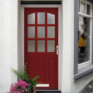 Image: Made to Measure Exterior Alicante Door with Double Glazing