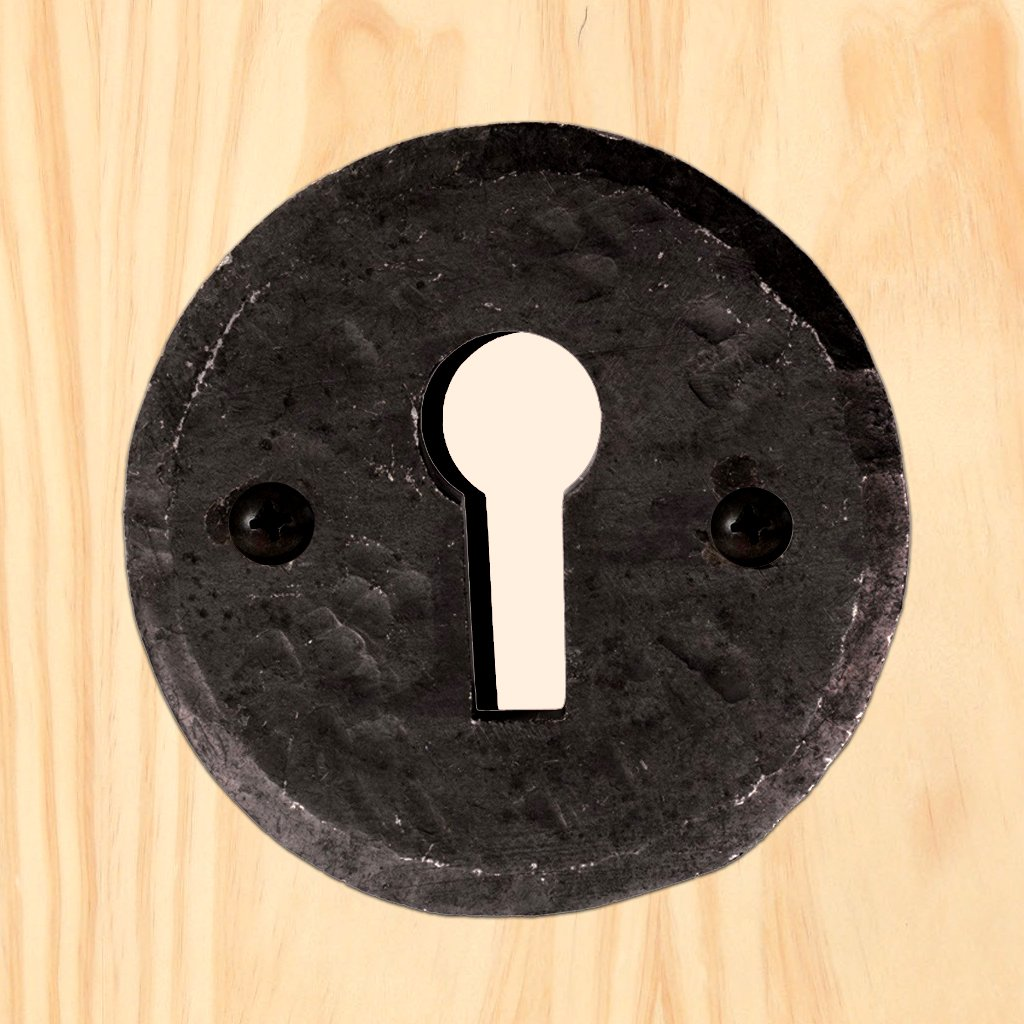 Ludlow Beeswax BW5546O Antique Open Escutcheon, 40mm