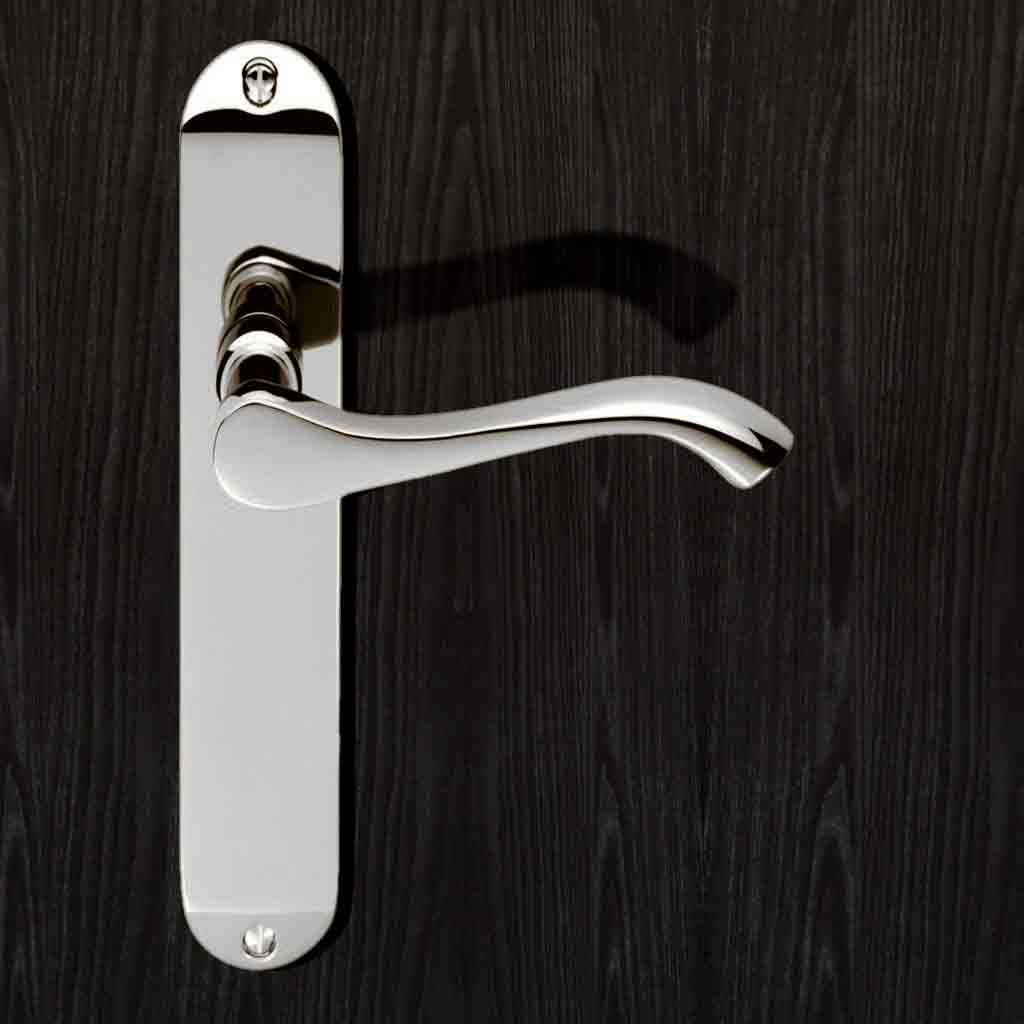 Chrome Plated: DL381 Andros Lever Latch Handles