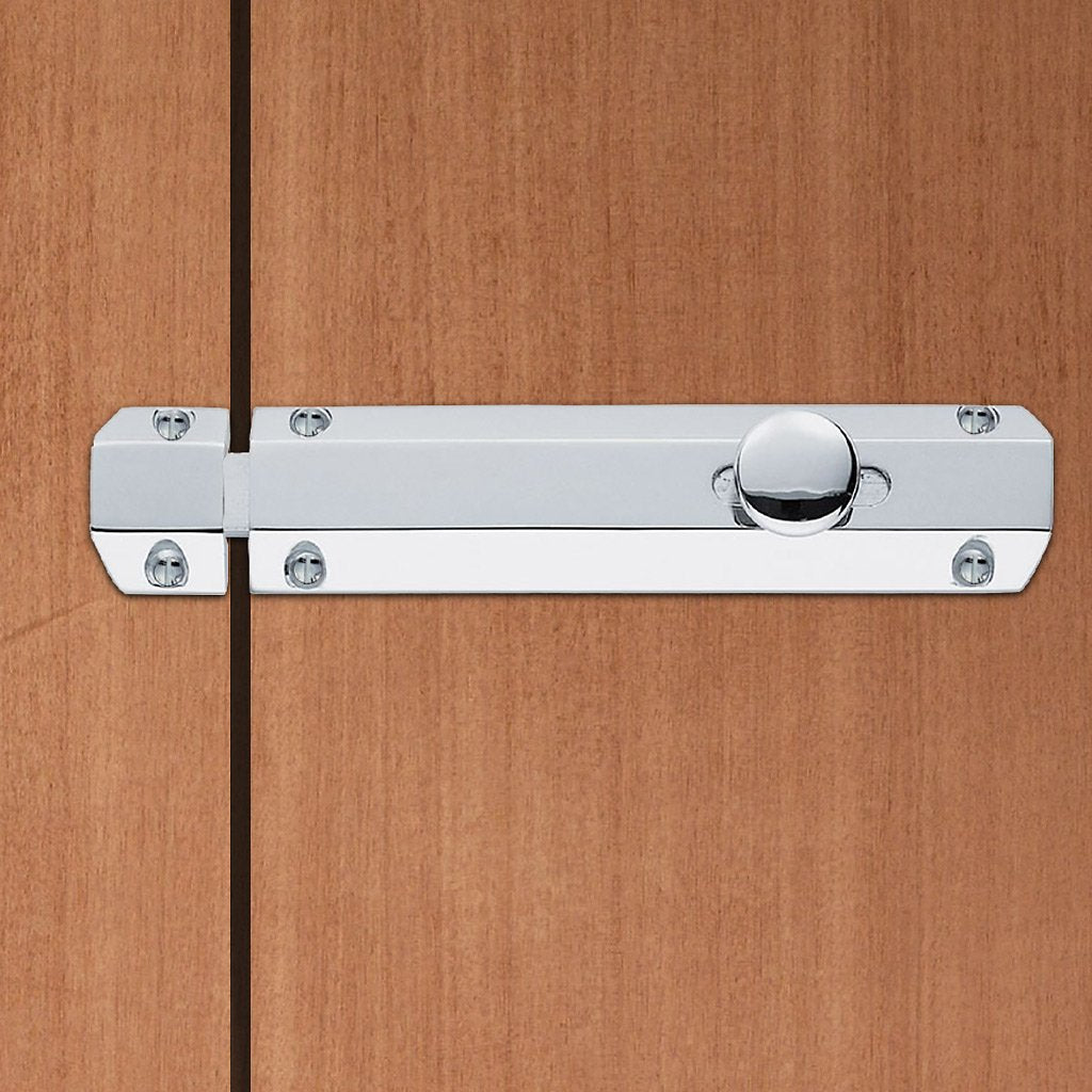 AQ82 Surface Fix Door Bolt with 2 keeper options - 3 Finishes