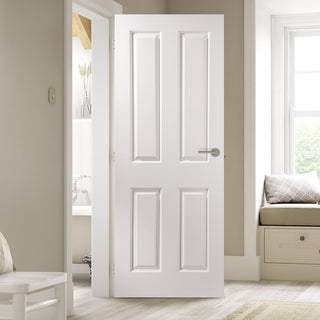 Image: JELD-WEN INTERNAL Atherton Smooth Door - Undercoated - Moulded Range
