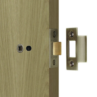 Image: 76mm Heavy Duty Bolt Through Tubular Latch - 10 Finishes