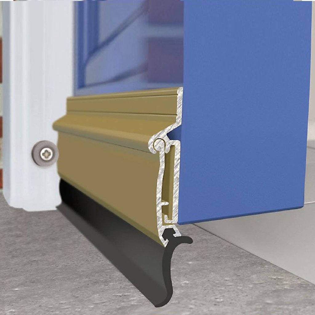 Exitex Auto-Seal Threshold Draught Excluder - 4 Sizes and 2 Finishes