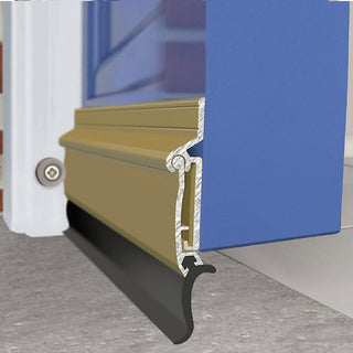 Image: Aluminium 914mm: Exitex Auto-Seal Threshold Draught Excluder