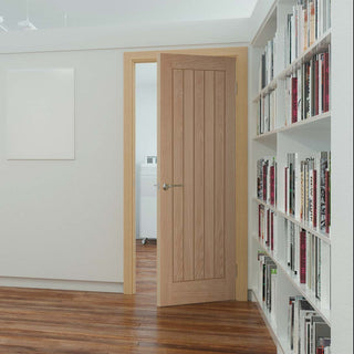 Image: Belize Oak Door - Prefinished