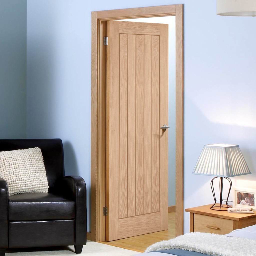 Belize Oak Flush Door