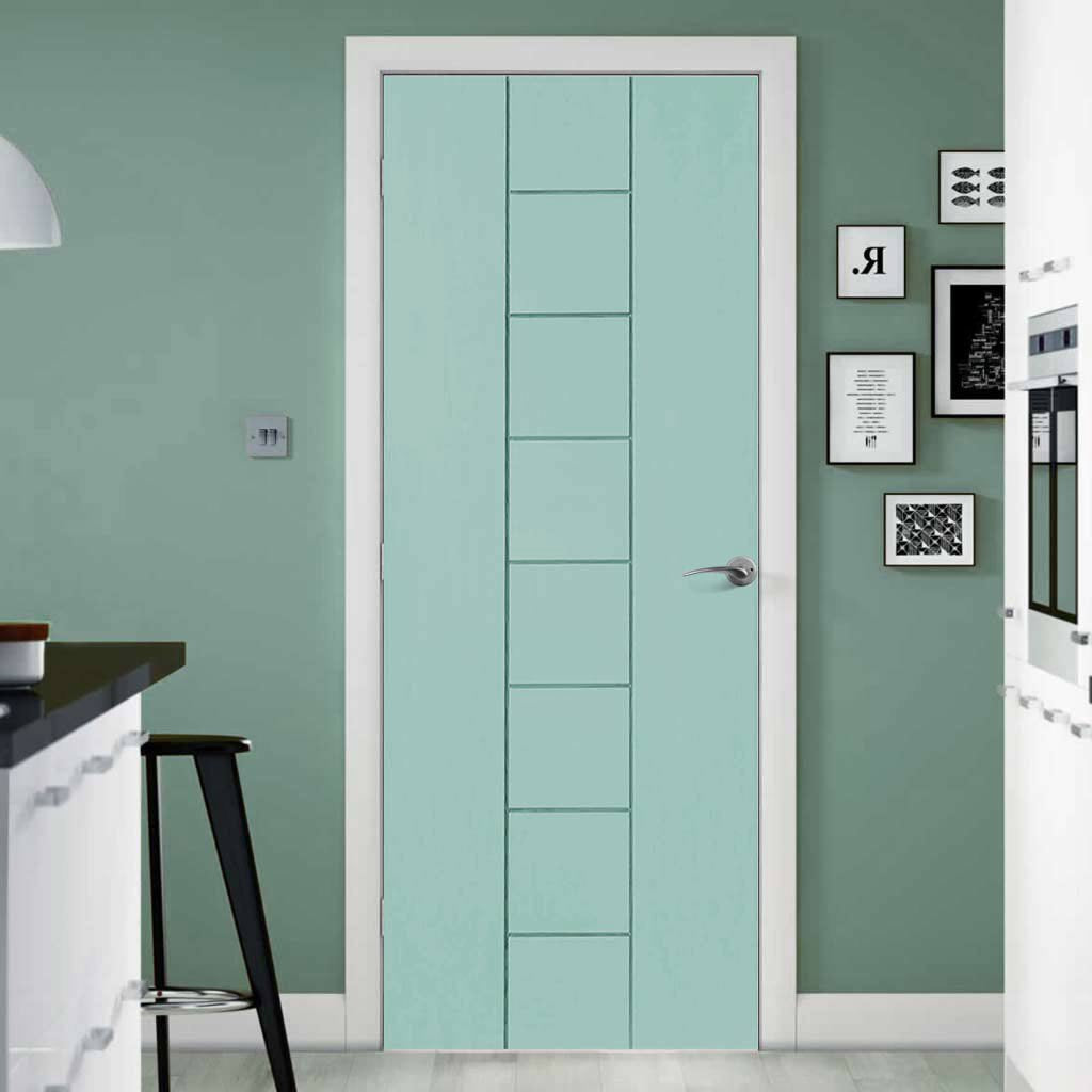 prefinished bespoke messina flush door