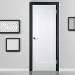 Image: Bespoke Pattern 10 Style Panel White Primed Door - From Xl Joinery