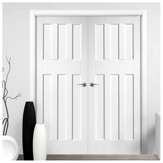 Image: DX60's Panel Door Pair - White Primed