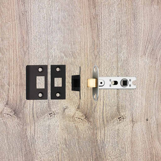 Image: Bolt Through Mortice Latch 64mm and 6 Finishes